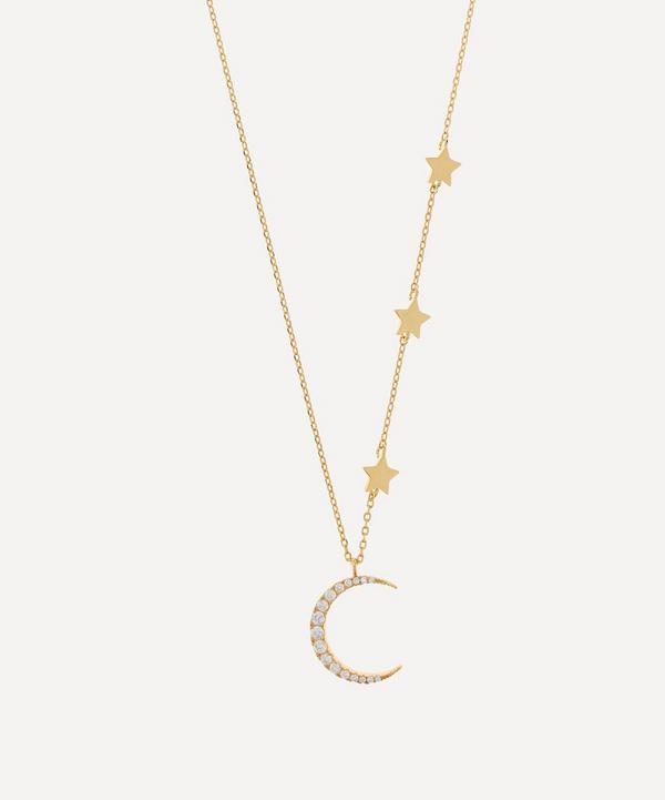 Girls Estelle Bartlett Little Ella Deer pendant necklace