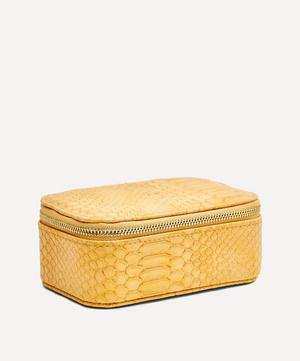Snake Print Faux Leather Mini Jewellery Box
