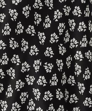 Kelly Antique Floral Print Midi-Skirt