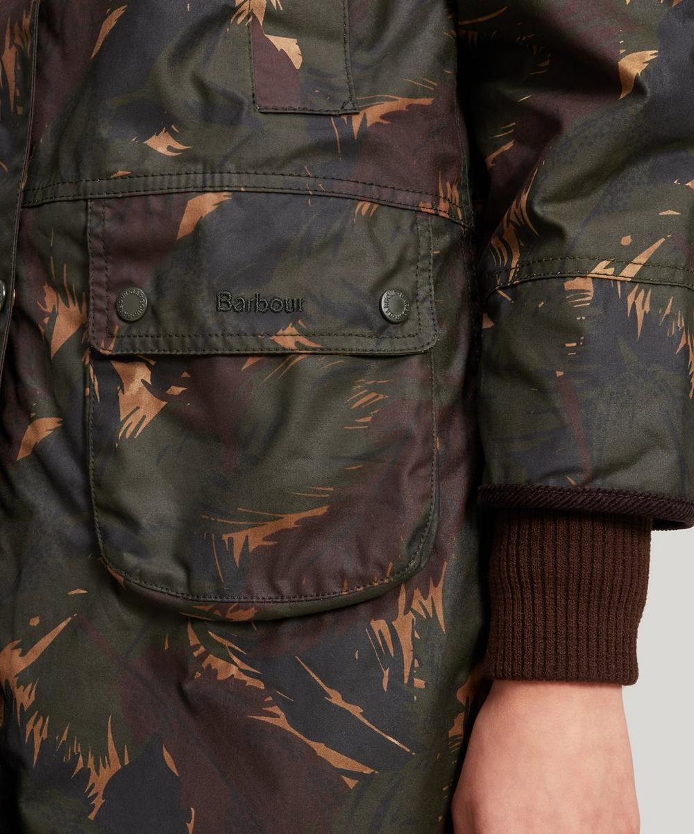 Feather Wood Camo Wax Jacket