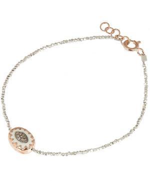 Rose Gold Montauk Diamond and Bakelite Beaded Bracelet