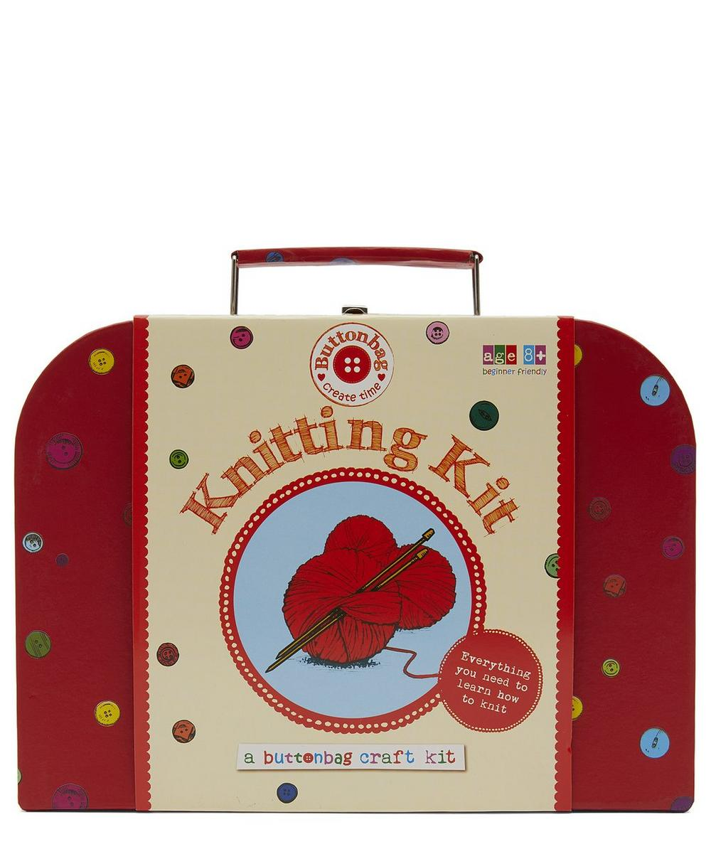 Suitcase Knitting Kit