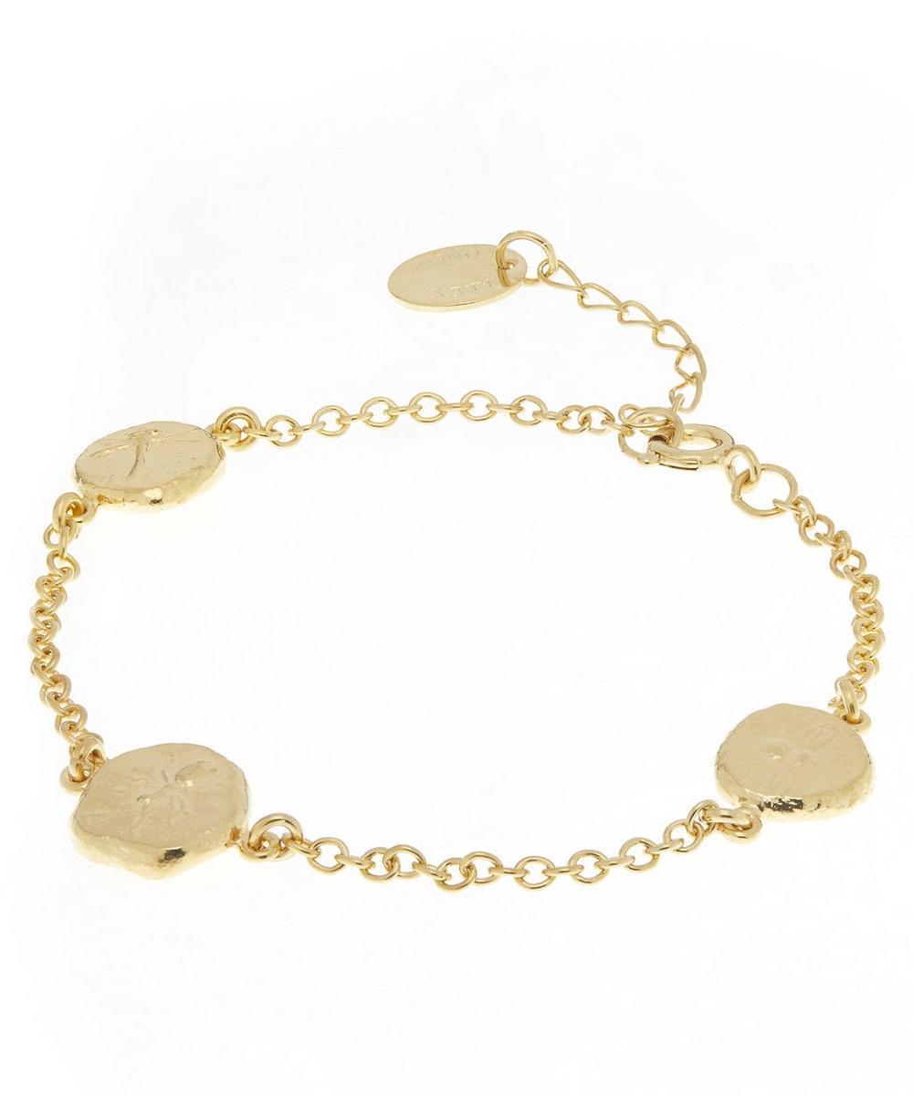 Gold-Plated Palaeontology Charm Bracelet
