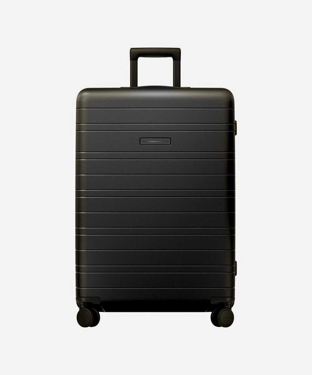 Horizn Studios Large Check-in Suitcase In Black
