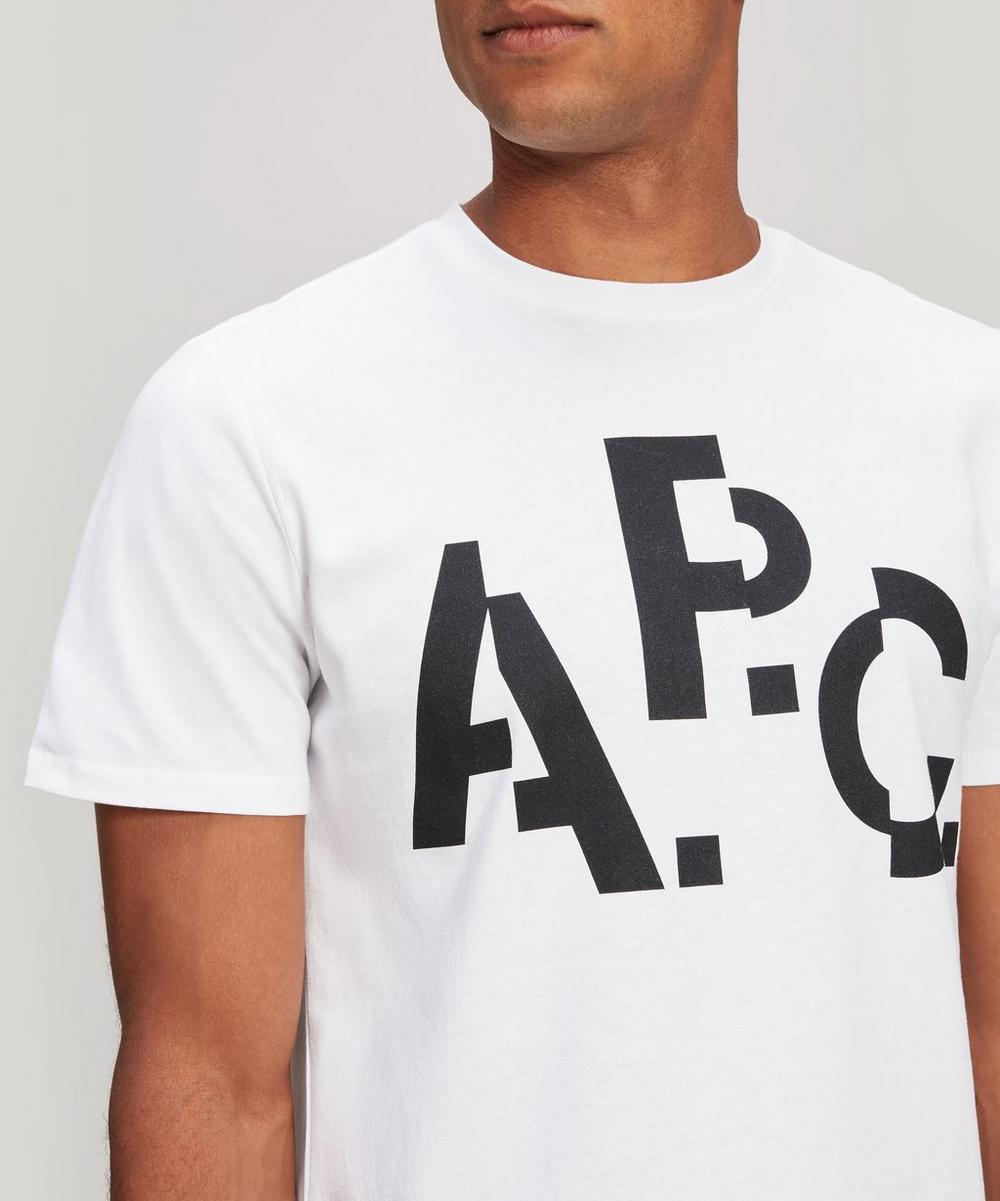 Decale Cotton Logo T-Shirt