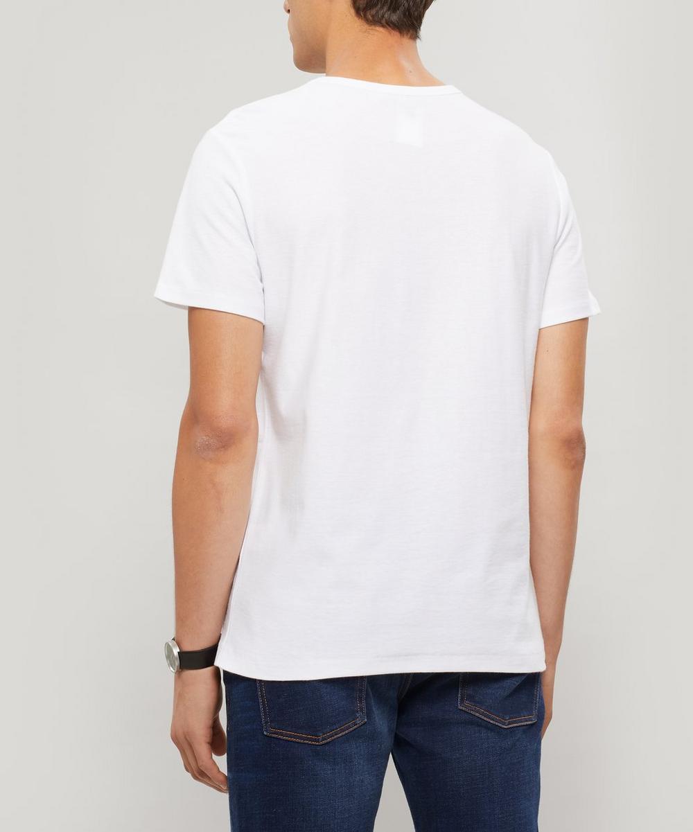 Yukata Logo Stripe T-Shirt