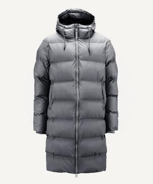 Long Water-Resistant Thermal Puffer Jacket