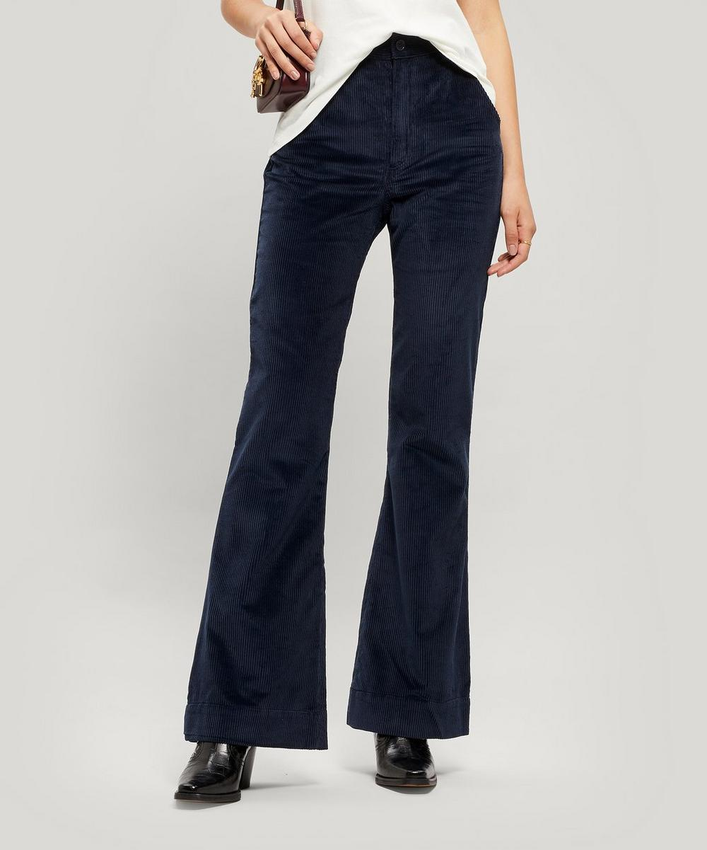 Marina Flared Corduroy Trousers