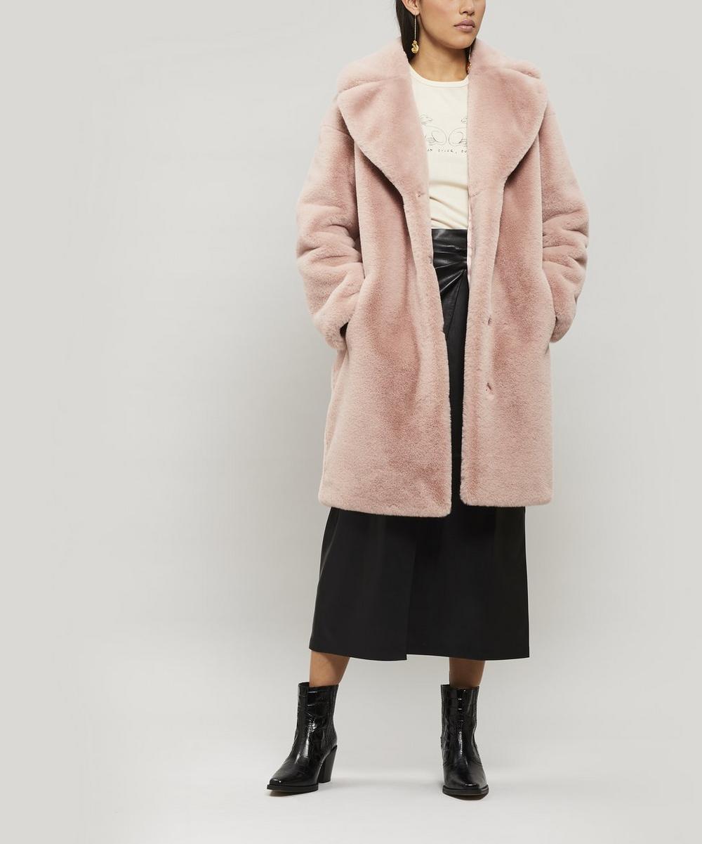 Camille Cocoon Faux Fur Coat