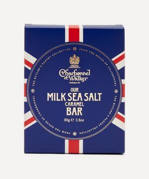 Butler's Pantry Union Jack Sea Salt Milk Chocolate Bar 80g