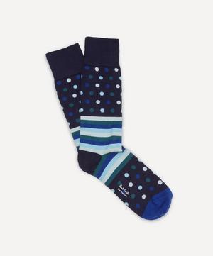 Striped Polka-Dot Socks