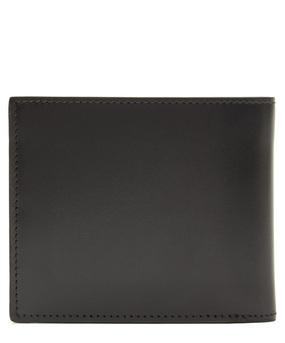 Leather Archive Print Interior Billfold Wallet
