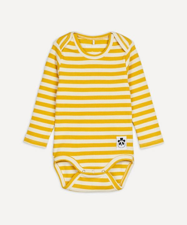 Stripe Long-Sleeved Body 3-18 Months