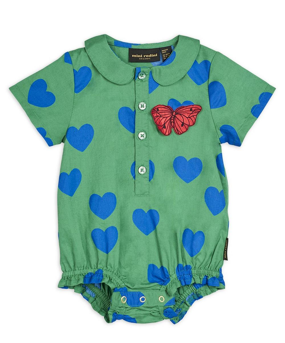 Hearts Woven Body 3-18 Months