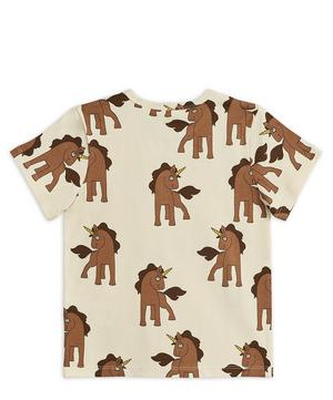 Short-Sleeved Unicorns T-Shirt 2-8 Years