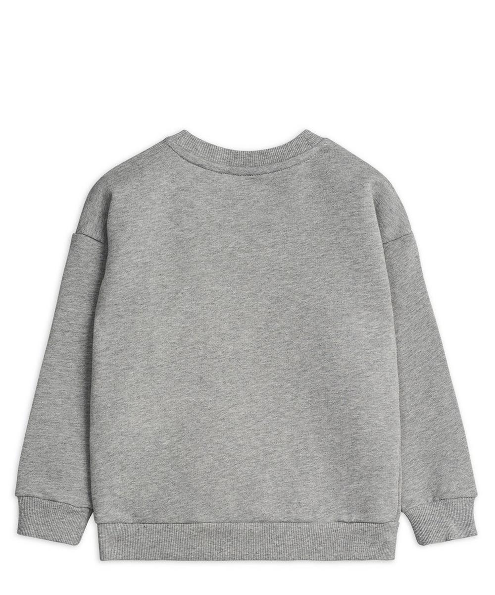 Cat Badge Sweatshirt 2-8 Years