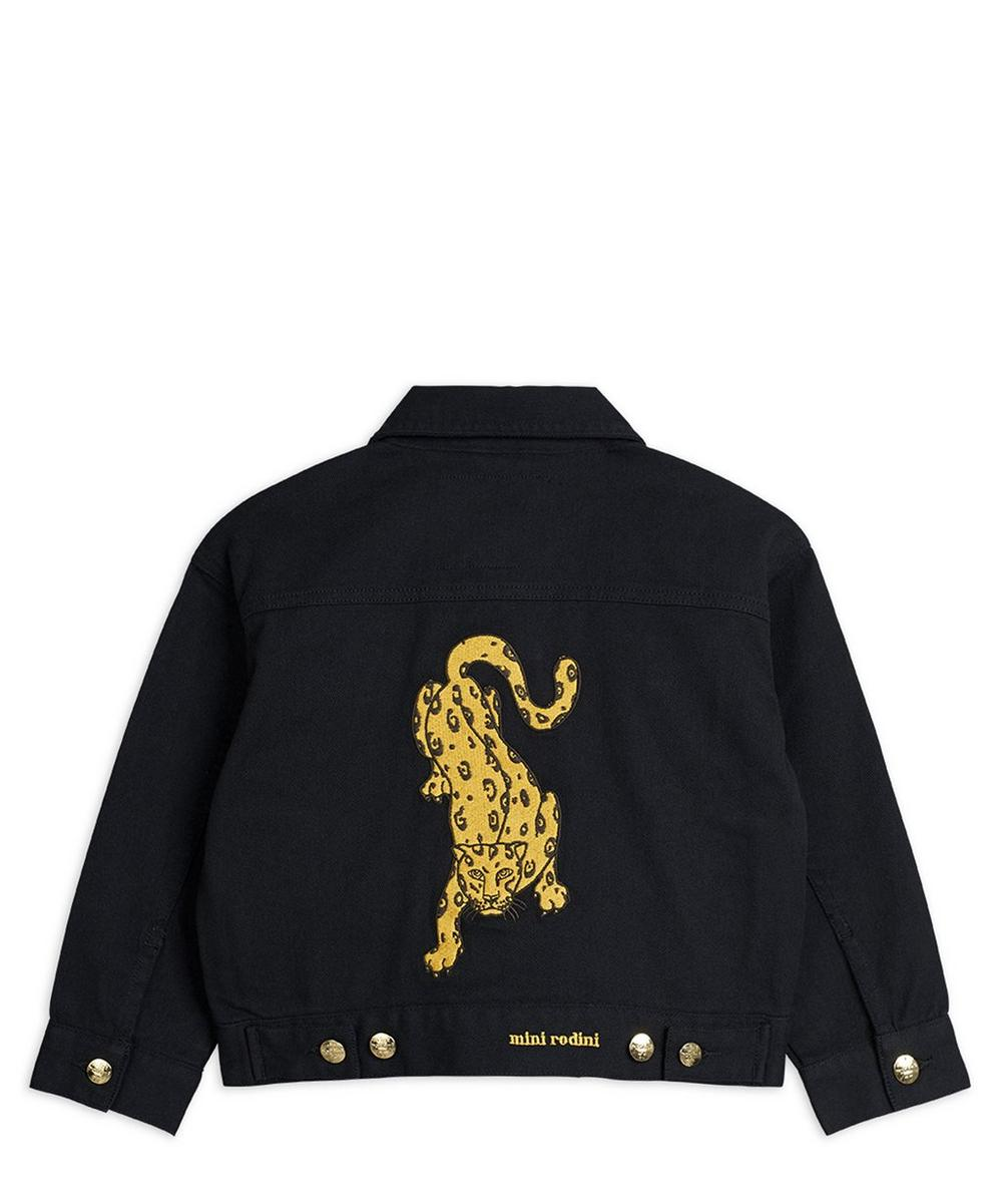 Leopard Denim Jacket 2-8 Years