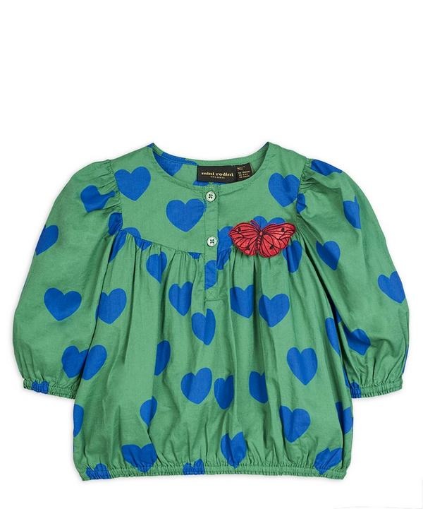 Hearts Blouse 2-8 Years