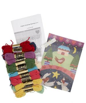 Angels Christmas Stocking Tapestry Kit