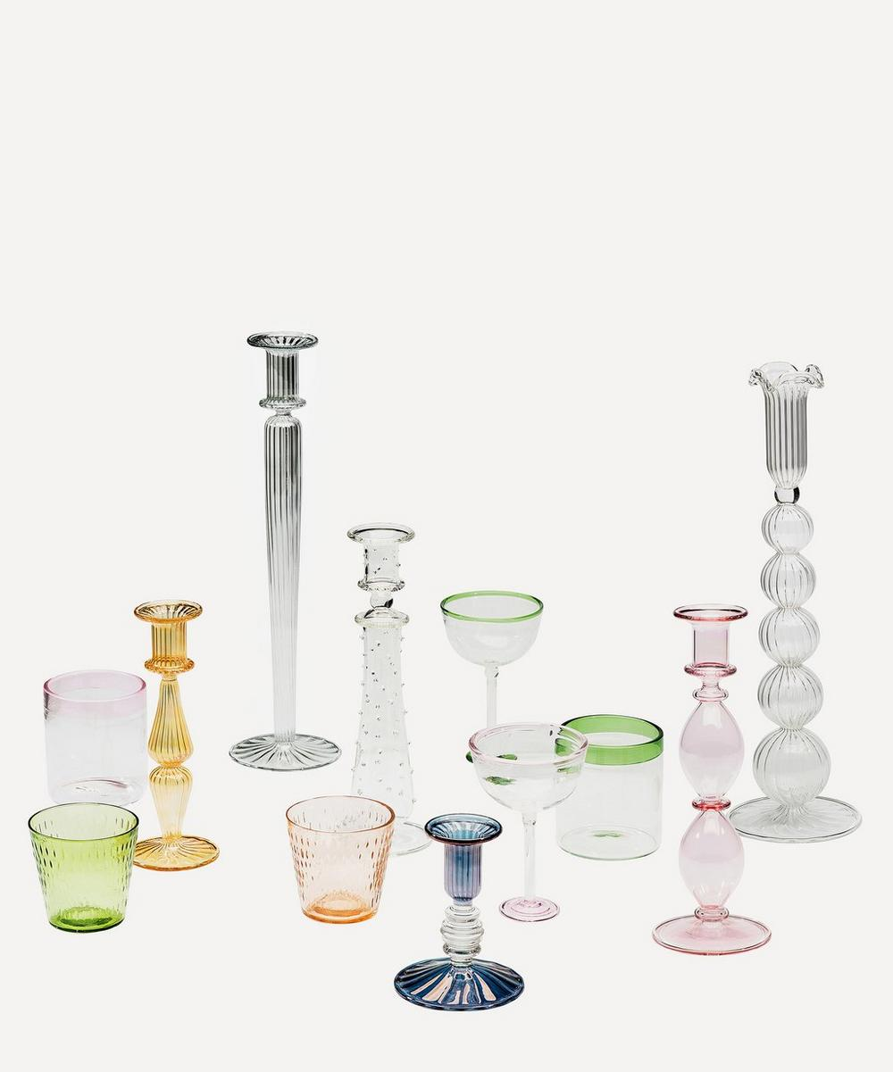 Athena Glass Candle Holder