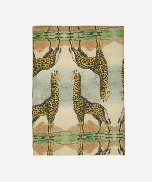 Avenida Home - Giraffe Large Linen Tablecloth
