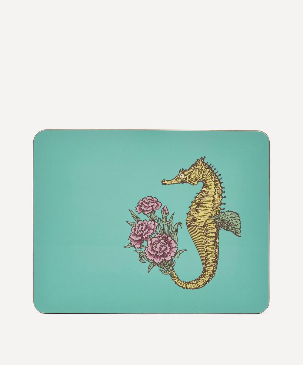Avenida Home Seahorse Table Mat In Multi