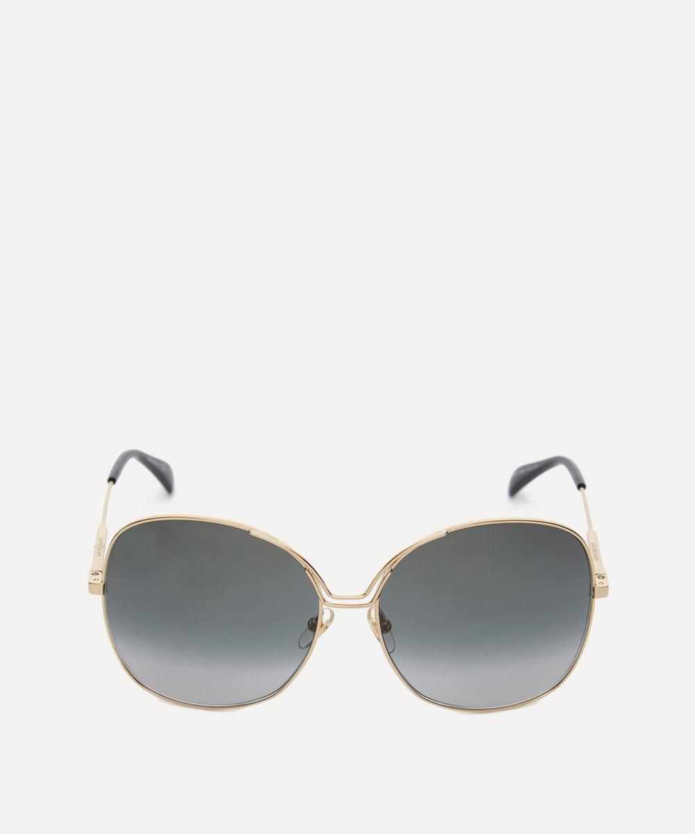 Givenchy Sunglasses OVERSIZED ROUND METAL SUNGLASSES
