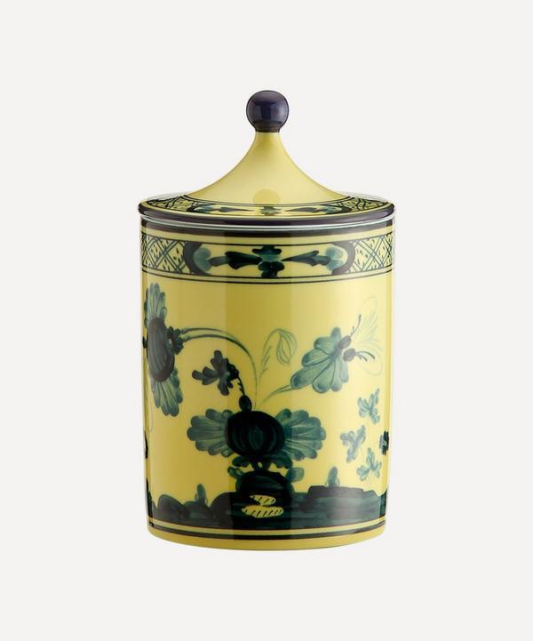 Ginori 1735 - Oriente Italiano Citrino Candle with Lid 300g
