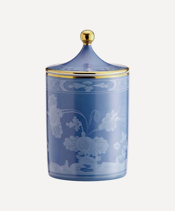Ginori 1735 - Oriente Italiano Pervinca Candle with Lid 300g