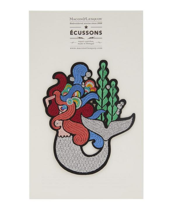 Macon & Lesquoy - Mermaid Sealife Embroidered Patch