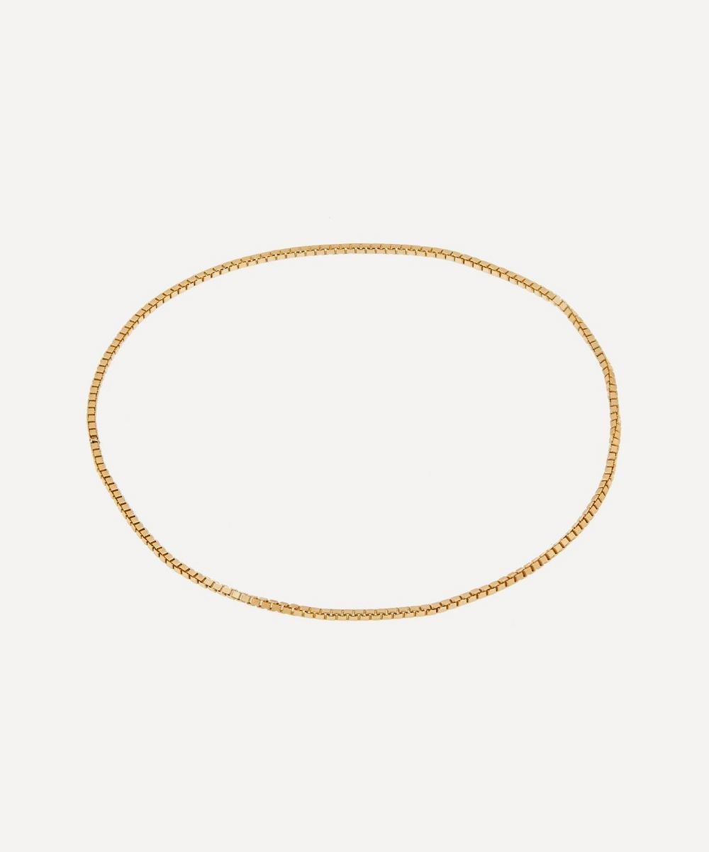 L'Essenziale 18ct Gold Large Chain Bracelet Gift Card