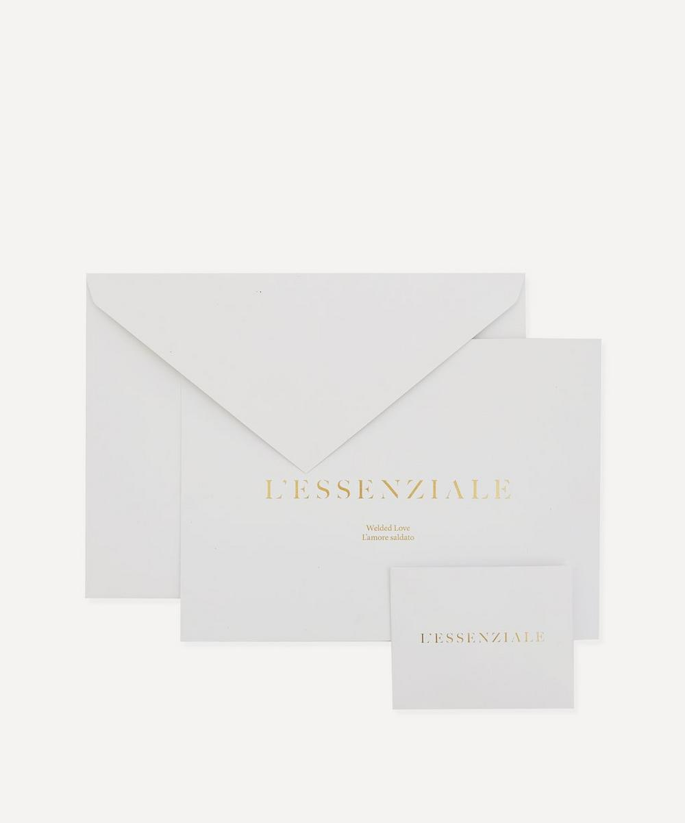 L'Essenziale 18ct Gold Large Chain Bracelet Gift Card