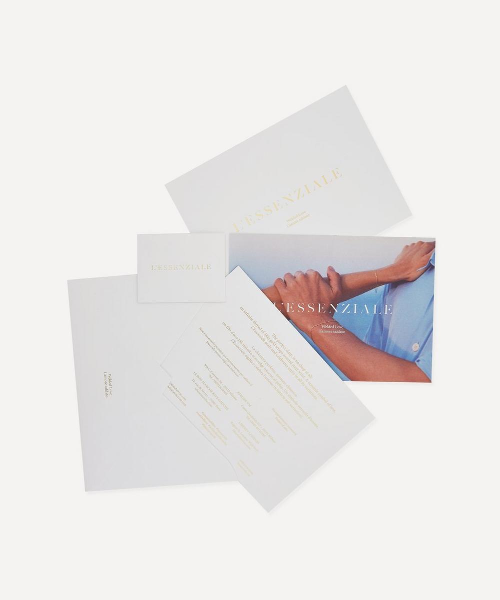 L'Essenziale 18ct Gold WOW Chain Bracelet Gift Card