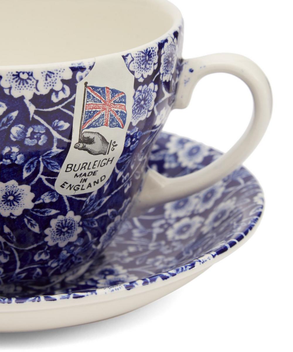 SaucerLiberty Blue And London Cup Calico Breakfast TculF1KJ35