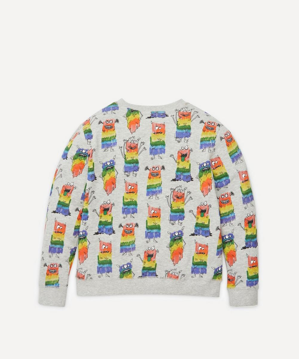 Rainbow Monsters Sweatshirt 2-8 Years