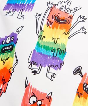 Rainbow Monsters Swim Shorts 2-8 Years