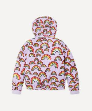 Rainbow Scribble Polyester Jacket 2-8 Years