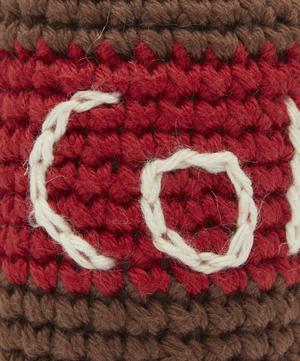 Hand-Crocheted Cola Toy