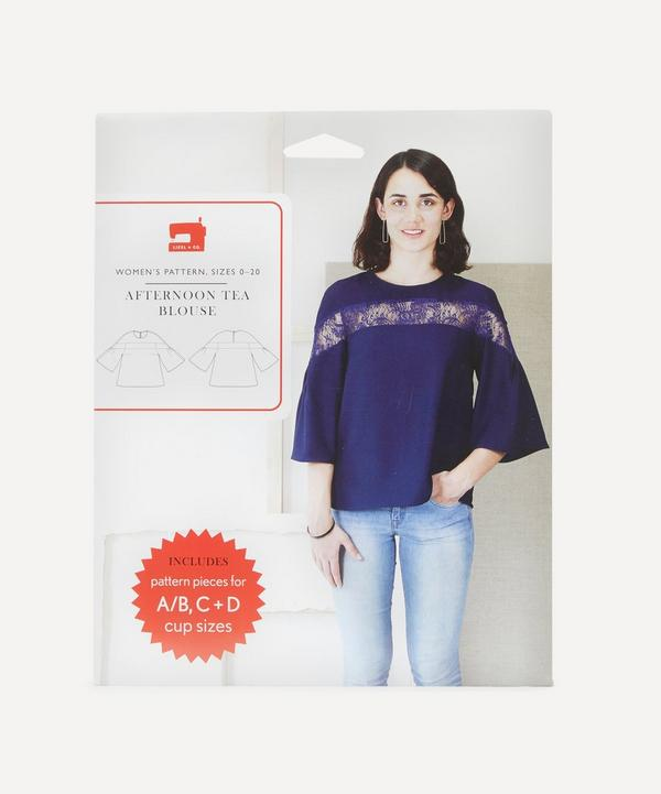 Oliver + S - Afternoon Tea Blouse Sewing Pattern
