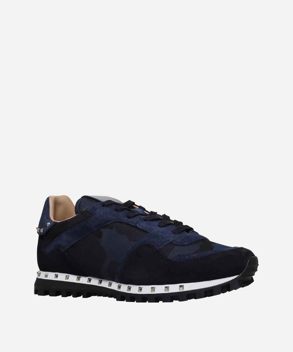 Valentino Garavani - Studsole Camouflage Sneakers