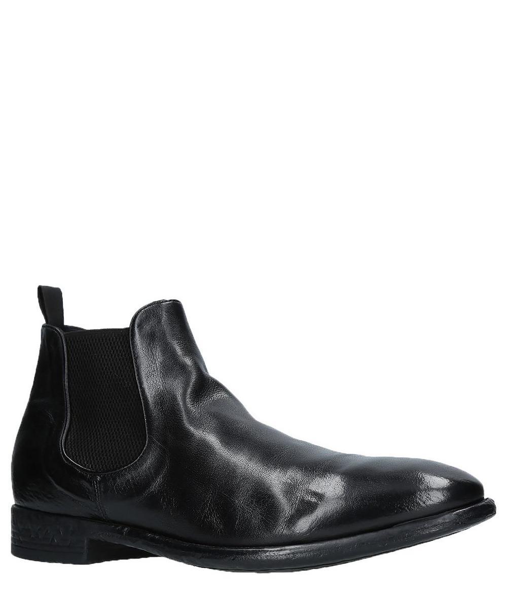 Officine Creative Ceton Chealsea Boot In Black