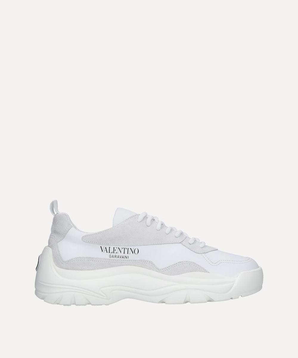 Bansi Leather Sneakers