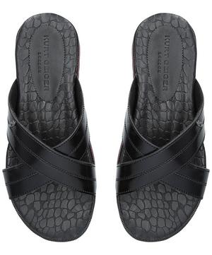Ricky Leather Sliders