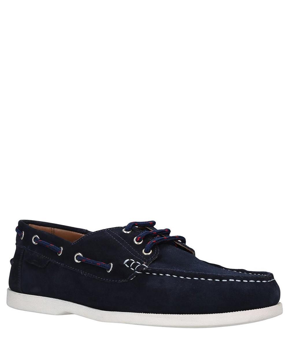 Brendan Suede Boat Shoes