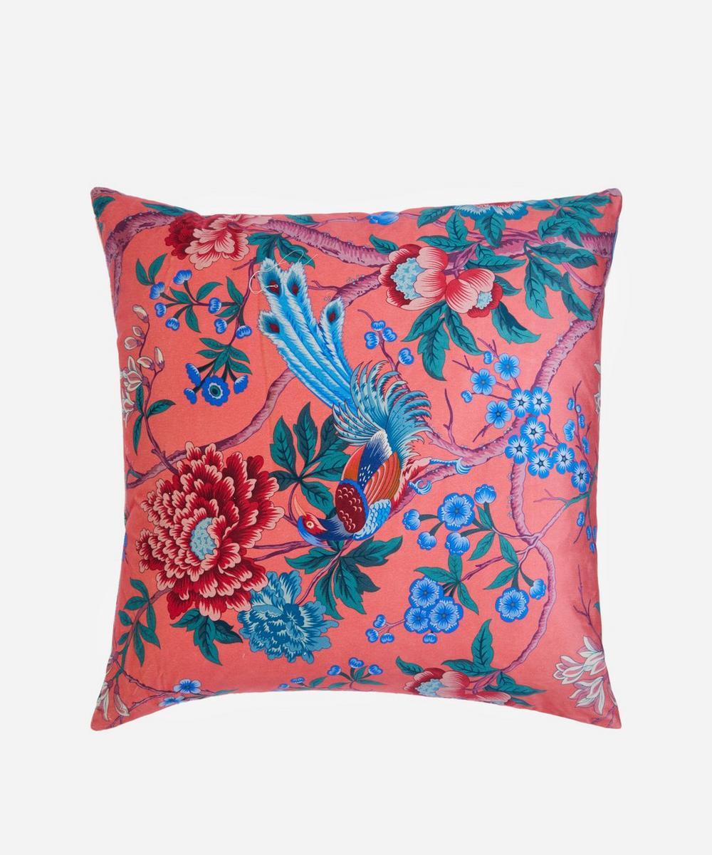 Elysian Paradise Square Velvet Cushion