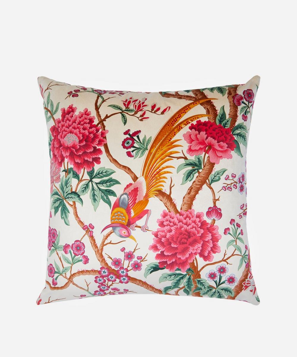 Liberty - Elysian Paradise Square Velvet Cushion