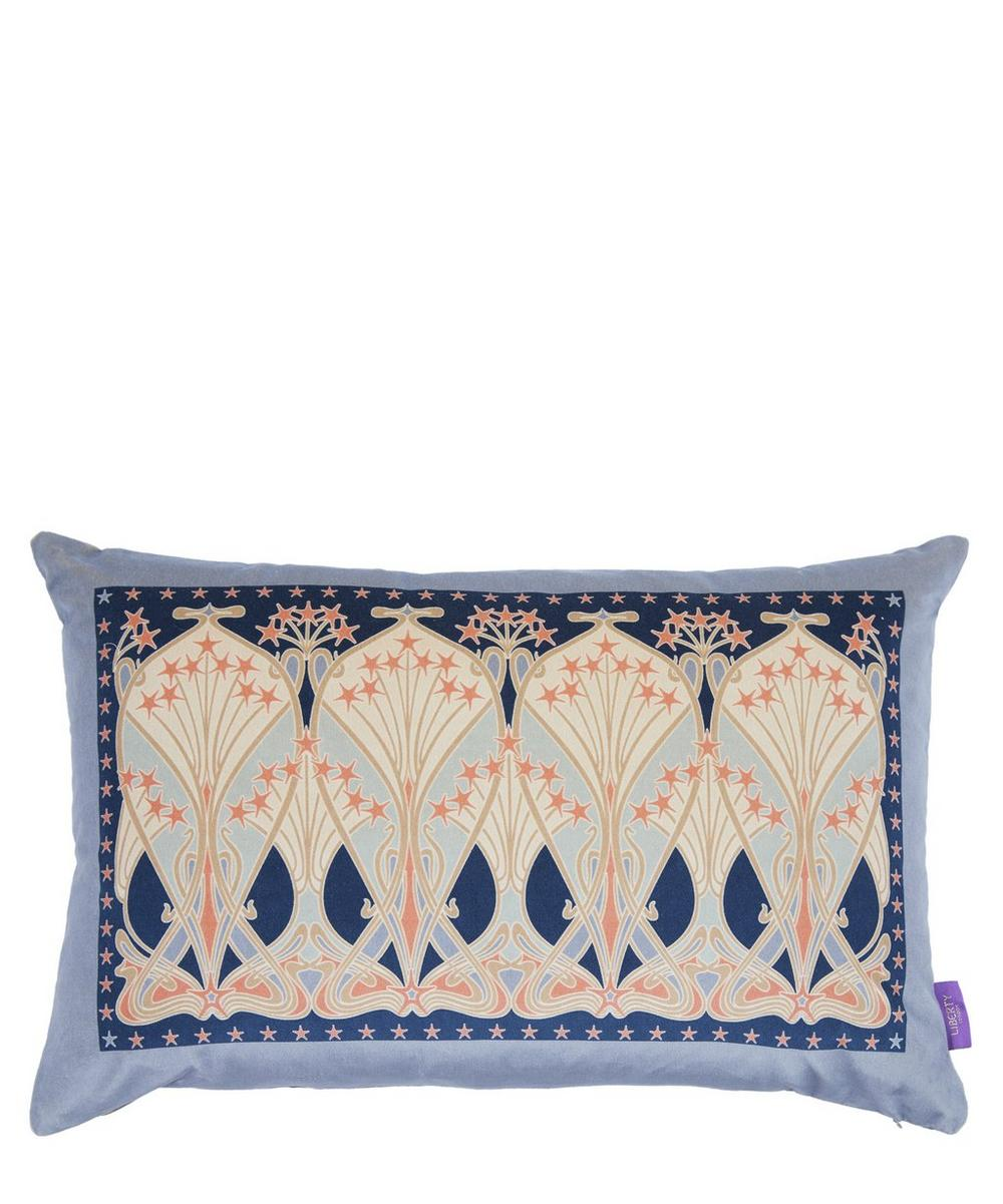 Ianthe Star Rectangular Velvet Cushion
