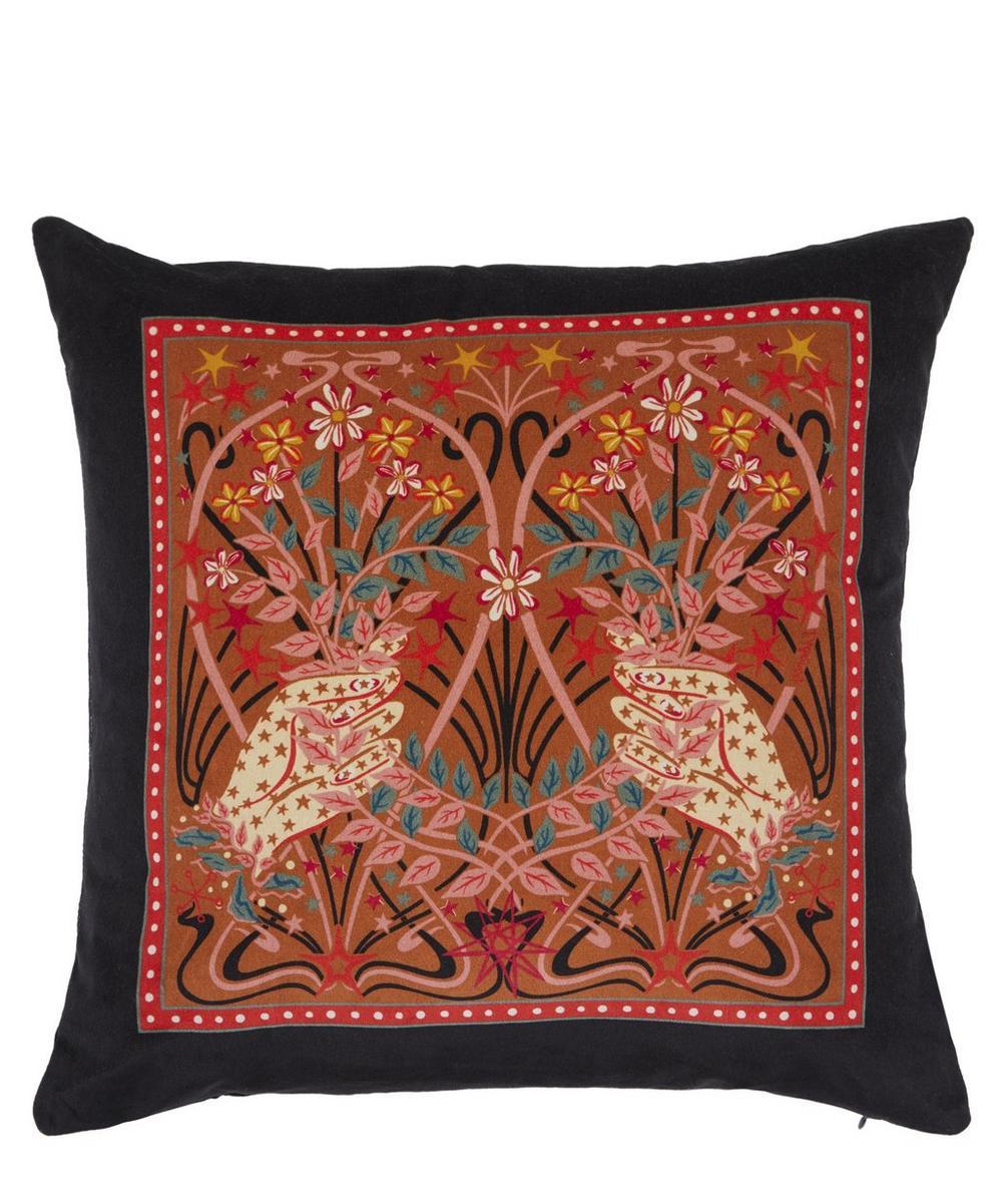 Ianthe Valentine Square Velvet Cushion
