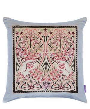 Ianthe Valentine Square Velvet Cushion