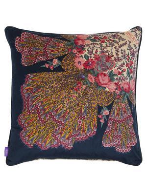 Renee Square Velvet Cushion